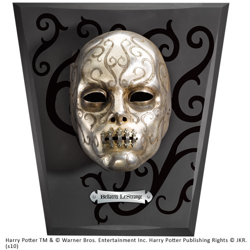 The Noble Collection Lestrange Bellatrix Todesser - Todesser Maske Kostüm