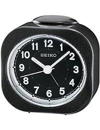 Seiko QHE121K - Reloj despertador, color negro
