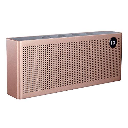 WinBridge T6 Bluetooth 4.2 altavoz inalámbrico, micrófono incorporado - para la función de manos libres, el apoyo TF tarjeta y el formato MP3, altavoz portátil para dispositivos electrónicos