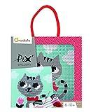 Avenue Mandarine Pix galería–gato en cartón Marco de fotos, multicolor