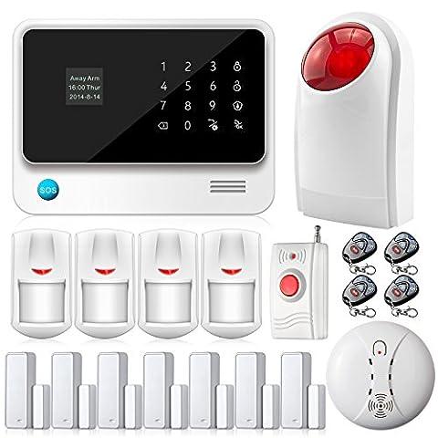 Fuers - G90B Kit Alarme Maison Sans Fil GSM WIFI