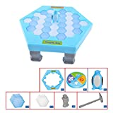timeracing Save Penguin Ice Block Breaker Trap Toys Funny Parent Children Kids Table Game Toys
