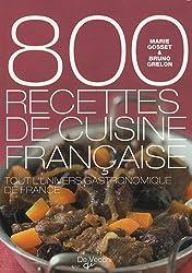 800 recettes de cuisine française