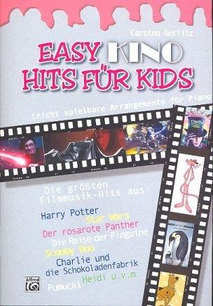 EASY KINO HITS für Kids mit Bleistift -- 12 leicht spielbare Klavierarrangements der schönsten Filmmelodien u.a. aus HARRY POTTER und STAR WARS, herausgegeben von Carsten Gerlitz (Noten/sheet music) (Harry Easy Potter Piano-musik,)