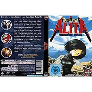 Battle Angel Alita Manga DVD