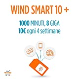 Wind SIM ricaricabile con offerta Wind Smart 10 +