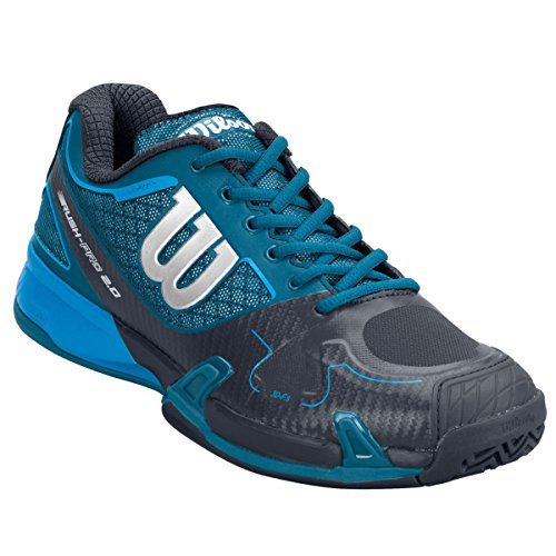 Wilson Rush Pro 2.0 clay Court para hombre colour azul marino/gris/meta Blue - UK 13.5
