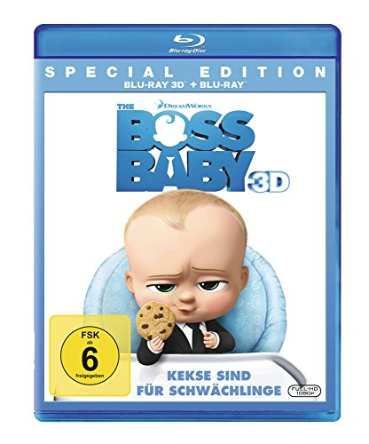 Bild von The Boss Baby [3D Blu-ray]