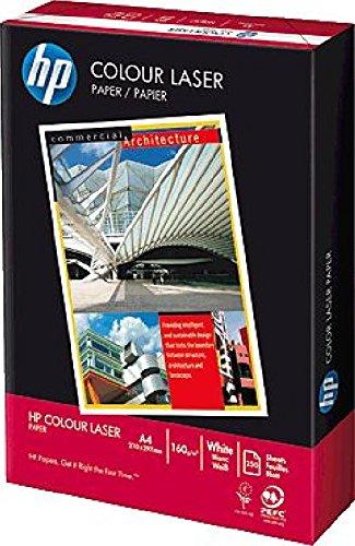 hp Colour Laserpapier/88008141 CHP400 A4 weiß geriest 160g Inhalt 250 Blatt