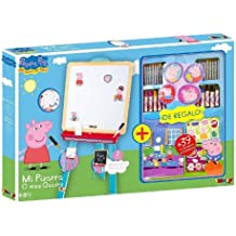 Peppa Pig 28079 - Pizarra + Accesorios Colouring (Smoby)
