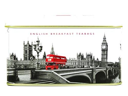 English Tea, 14English Breakfast Bustine di tè in poco di Westminster Caddy