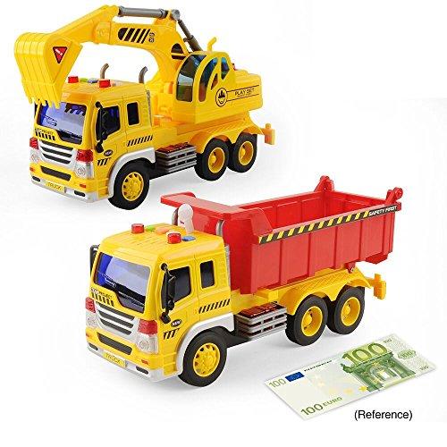 GizmoVine construcción camiones excavador vehículos, 1:16 escala de...