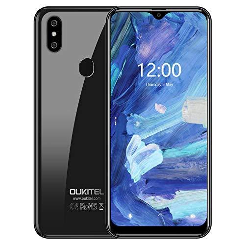OUKITEL C15 Pro (2019) Offerte Cellulari Android 9.0 Smartphone in Offerta 4G LTE, 6.088' HD (19:9) MT6761 Quad-Core 2.0 GHz,Batteria 3200mAh, 3GB+32GB,2 Nano SIM+MicroSD,8MP+2MP+5MP, Face Unlock
