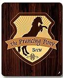 Restaurantes - El Pony Pisador Alfombrilla para Ratón (23 x