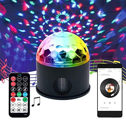 Fernbedienung Disco Lights, DJ Disco Light Mini Mit Fernbedienung Bühnenlampe Sound Aktivierungs Effekt Projektor Strobe -530 - Lights Laser Dj