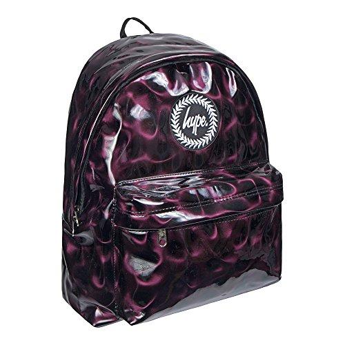 HYPE Dark Plum Backpack Plum School bag AW17393 HYPE Bags