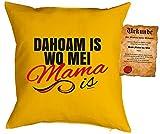 Fête des Mères Coussin Déco Dahoam IS où Mei Mama IS Livré avec certificat de
