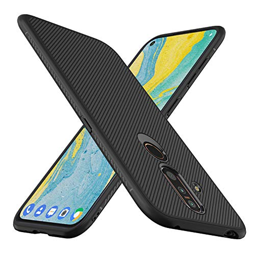 iBetter für Nokia 6.2 Hülle, für Nokia 6 2019 Hülle, Ultra Thin Tasche Cover Silikon Handyhülle Stoßfest Case Schutzhülle Shock Absorption Backcover Hüllen passt für Nokia 6 2019 Smartphone(Schwarz)