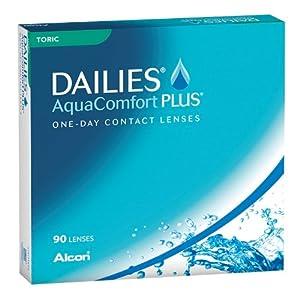 Dailies AquaComfort Plus TORIC – 90er-Pack – Alle Stärken