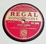 Glenn Miller Sunrise Serenade / Moonlight Serenade 10 inch 78 rpm Vinyl Shellac Record