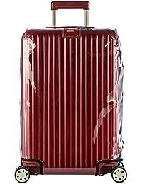 Funda de piel transparente para equipaje PARA RIMOWA SALSA Funda con cierre de cremallera