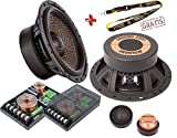Ground Zero GZUC 650SQ-II 2 Wege System High End SQL Car HiFi 16,5 cm 210 Watt Peak