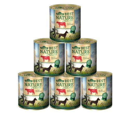 dehner-best-nature-hundefutter-adult-rind-und-reis-mit-distelol-6-x-800-g-48-kg