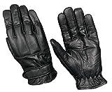Security Quarzsand Handschuhe Echt Leder Defender auch mit Kevlar Schnittschutz