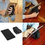 Tablet-Ständer, eBook-Reader Handschlaufe (universal passend) schwarz , verstellbar