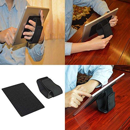 Soporte Tablet,Universal Soportes para tablets y soporte de mano para tablets (Negro)...