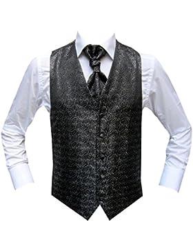 Chaleco SIVAS MMUGA de negro, tamaños disponibles 44-66