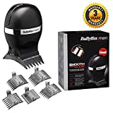 BaByliss for Men 7575U Smooth Glide Cordless Hair Clipper 4x Cutting Comb Attachments with Storage Pouch