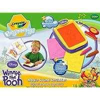 Crayola Beginnings Winnie The Pooh Magic Sound Scribbler