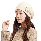 JMETRIC Damen Beanie Hat|Strickmütze|Barett |Winddichte Mütze|Gestrickt Verdicken Wintermütze|Wintermütze Mode Wärme