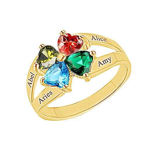 ASD Jewerly Kinder Damen Herren Unisex - Vergoldetes Silber