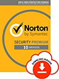 Norton Security Premium 2018 | 10 devices | 1 year&|&Antivirus included&|&PC|Mac|iOS|Android |&Download