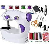Vivir Ming Hu Mini Sewing Machine for Home (Multicolour)