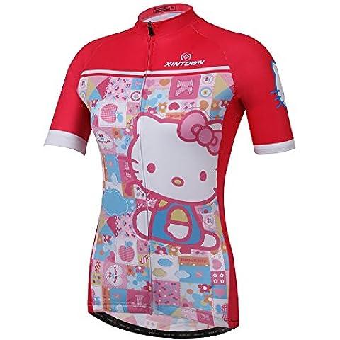 Spoz Women's Cycling Workout Sportwear Jersey Top Yours_t_302 S