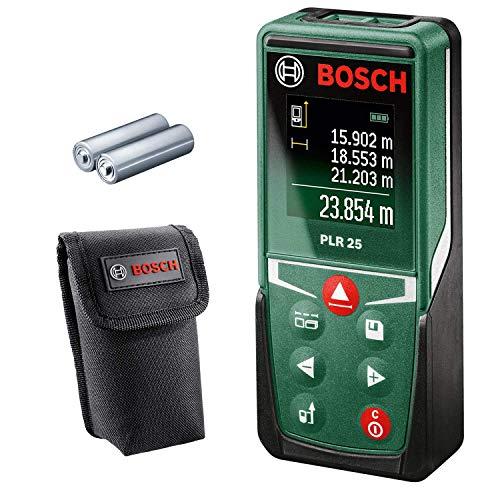 Bosch Laser Entfernungsmesser PLR 25 (Messbereich bis zu 25m, im Karton)
