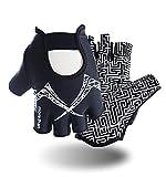 Best Yoga Gloves - Fitness Gloves, Anti-skid GYM Training Gripper Gloves Callus Review