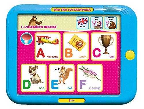 Lisciani Giochi 51229–Masha et Michka Tablette Je Touche et j'apprends (Mio Tablet Toccaimpara), pour Enfants