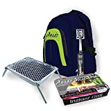 Asado Small Backpack With Instant BBQ + Grill Stand + Multi Tool - Great Gift