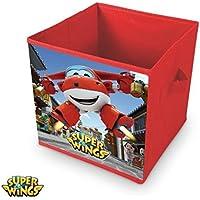 Preisvergleich für Super Wings Faltbox Aufbewahrungsbox Ordnungsbox Spielzeugkiste