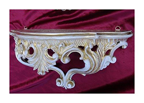 Lnxp Wandkonsole Wandregal Wandboard Konsole Hängekonsole Ablage Regal mit Ornamente Verzierungen...