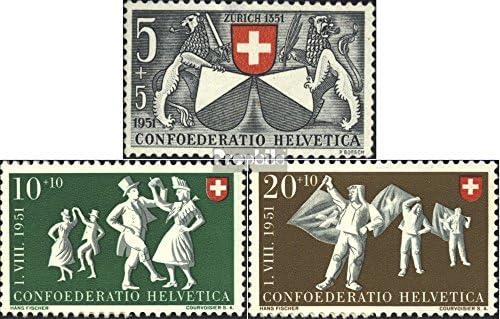 Suisse 555-557 1951 Pro Patria (Timbres pour Les collectionneurs) collectionneurs) collectionneurs) B073Q2P664 b36987