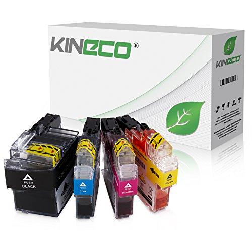 Preisvergleich Produktbild 4 Kineco Tintenpatronen kompatibel zu Brother LC-3219 XL MFC-J5330DW MFC-J5730DW MFC-J5930DW MFC-J6530DW MFC-J6730DW MFC-J6930DW Schwarz 68ml, Farben je 17ml Inhalt