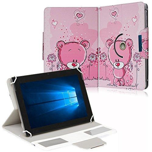 NAUC Schutz Hülle für 10-10.1 Zoll Tablet Tasche Schutzhülle Case Cover Bag, Motiv:Motiv 1, Tablet Modell für:ARCHOS 101c Platinum