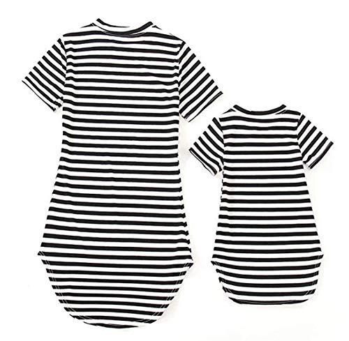 Trajes Juego Familia Ropa Madre Hija Vestido Baby