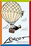 Inkognito Loriot Legespiel / Gedächtnisspiel 13 x 9,5 x 3 cm  40050 ''Das verrückte Loriot-Legespiel''  Games  Spiele