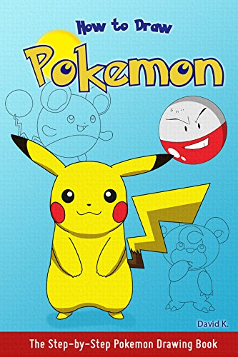 How to draw pokemon the step by step pokemon drawing book by